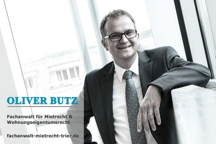 Anwalt Mietrecht Trier Oliver Butz